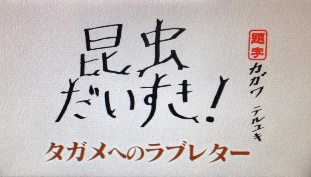 タガメへのラブレター、香川のタガメ愛がヤバイ・・