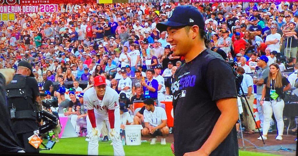 菊池雄星先輩、大谷への完璧な給水ありがとうございました